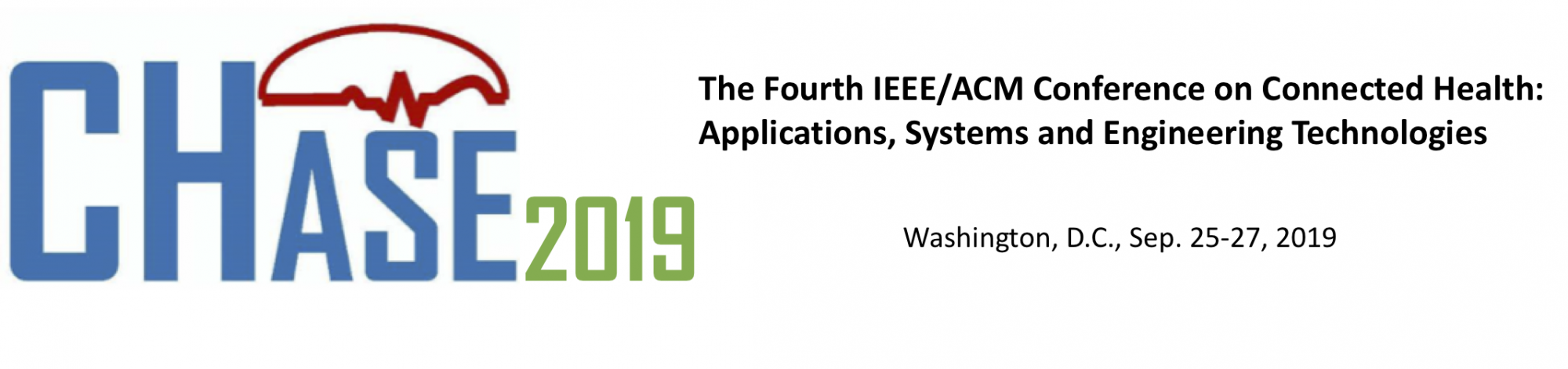 A paper was accepted to 2019 IEEE/ACM Conference on Connected Health (CHASE)