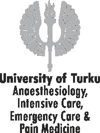 University of Turku, Anesthesiology logo